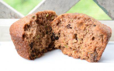 Linda Hafner's Zucchini Muffins with Applesauce