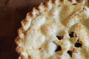 All fruit mincemeat pie