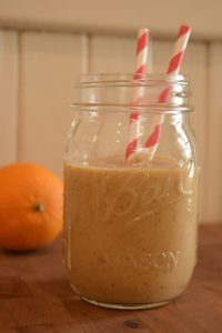 Orange and mincemeat smoothie